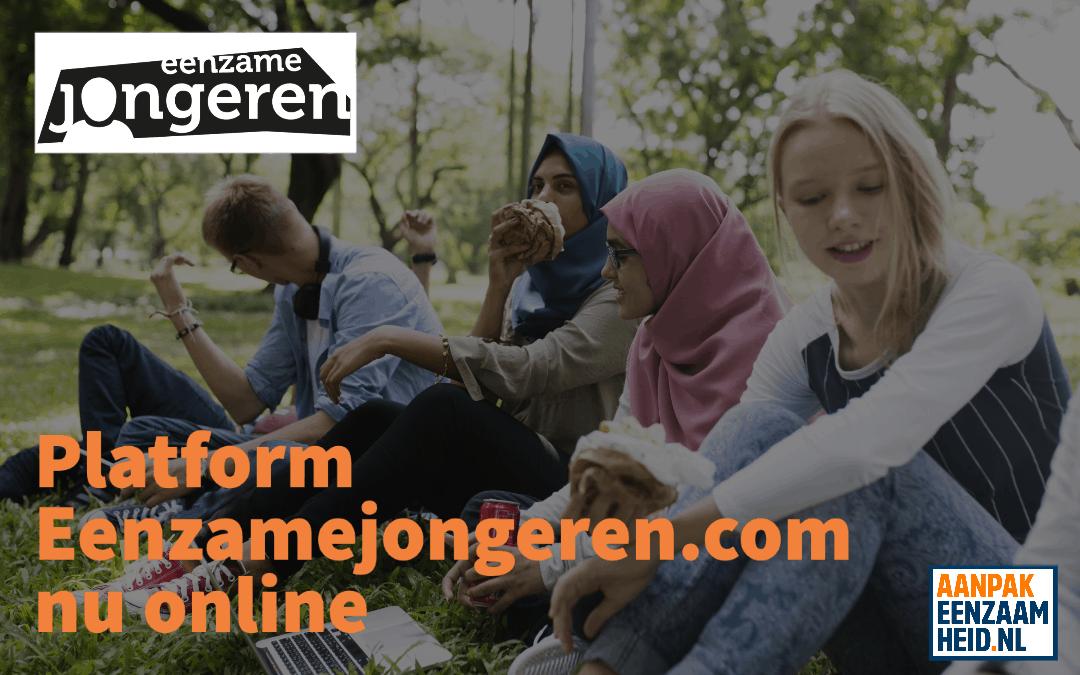 Platform eenzamejongeren.com nu online