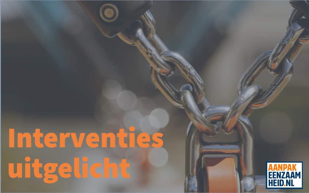 Instrumenten uitgelicht (4): interventies