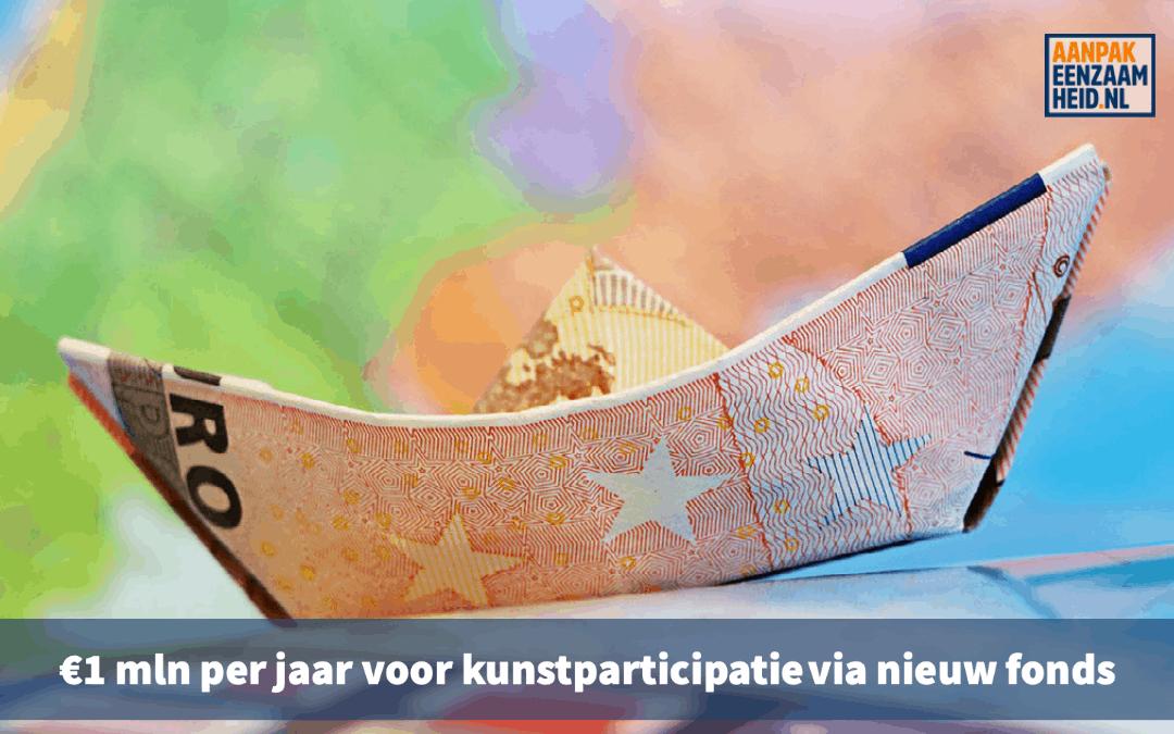 €1 mln per jaar voor kunstparticipatie via nieuw fonds