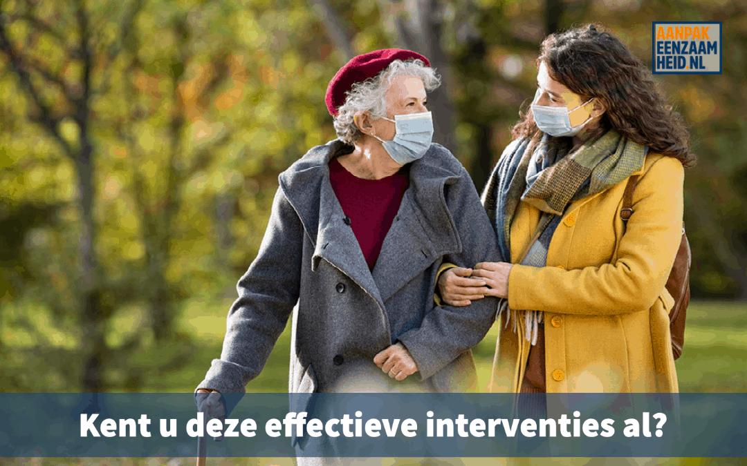 Kent u deze effectieve interventies al?