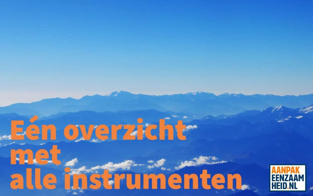 Maak kennis met de instrumentenwijzer